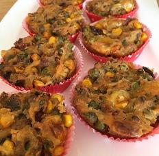 herzhafte vegane muffins